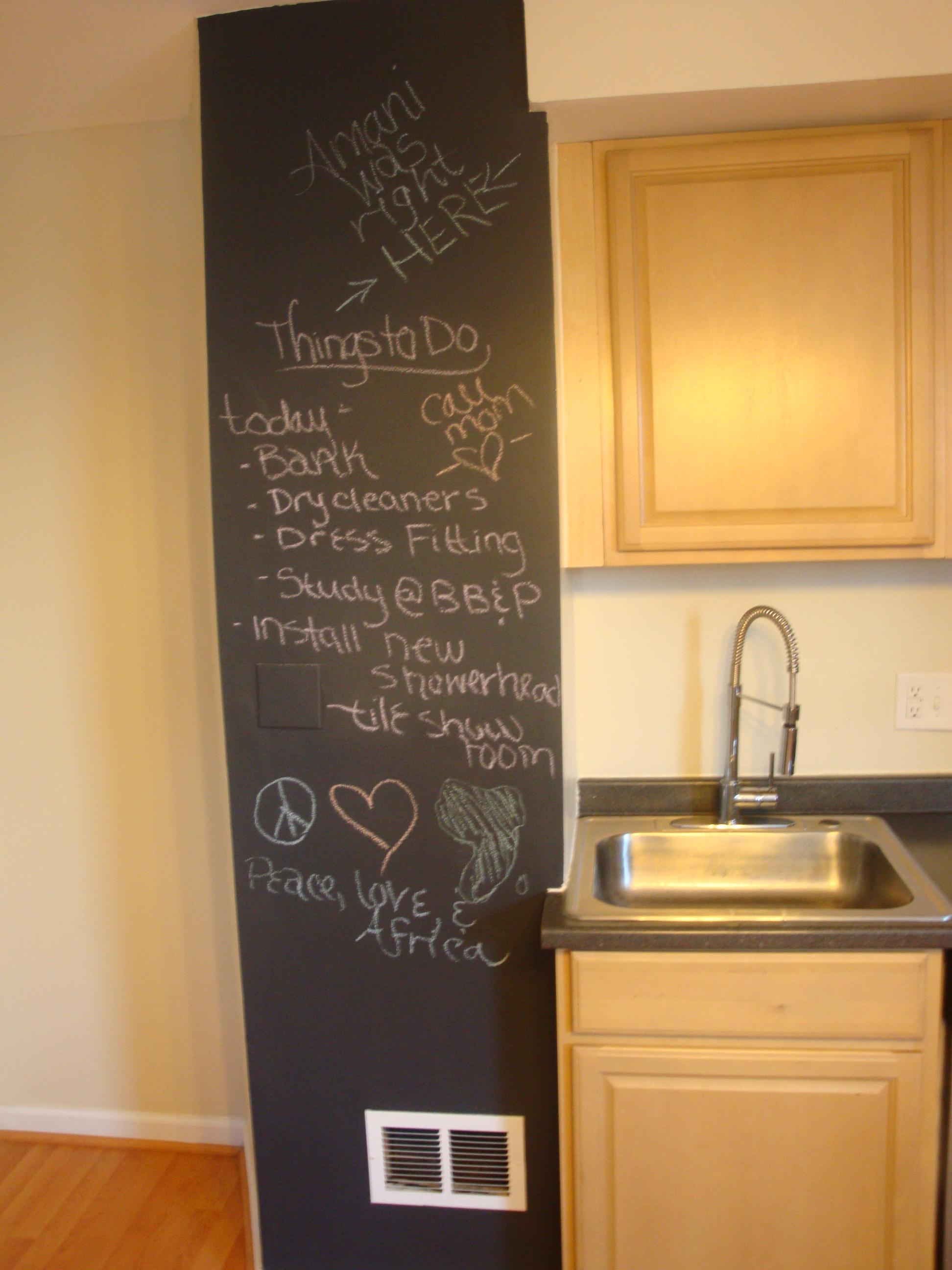 Blackboard Is The New Wall